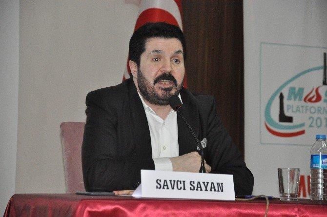 """Muş'ta """"Barış, Huzur Ve Kardeşlik İçin Yeni Türkiye' Paneli"""