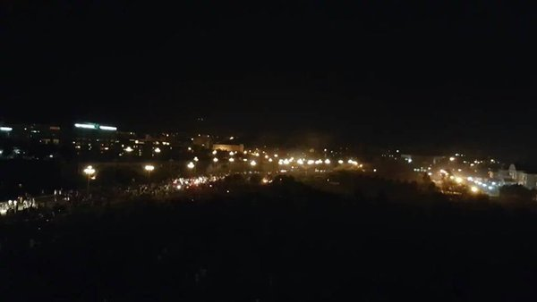 Pakistan'ın başkenti İslamabad'da idam protestosu