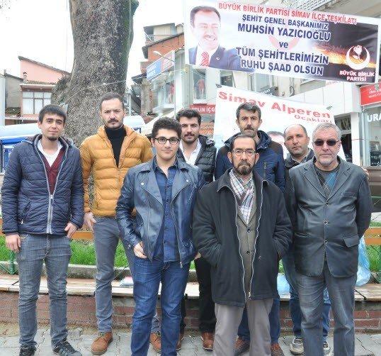 Muhsin Yazıcıoğlu Anıldı