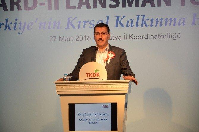 Bakan Tüfenkci, Ipard Yatırımları Toplu Açılışı Ve Lansmanına Katıldı