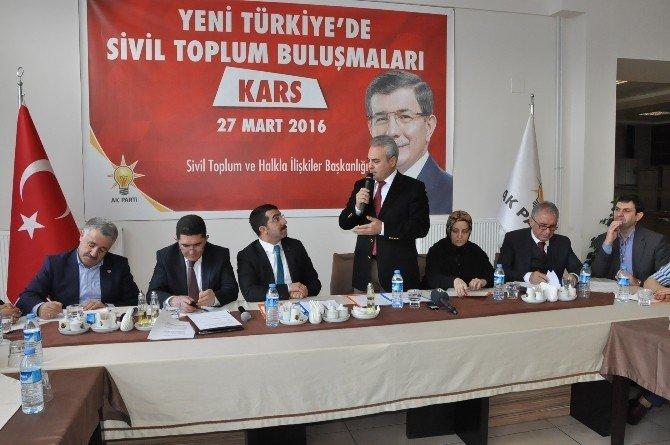 """""""Yeni Türkiye'de Sivil Toplum Buluşmaları"""""""