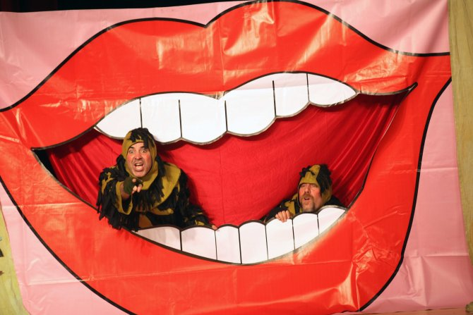 Tiyatro ile diş sağlığı eğitimi