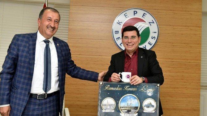 Anadolu Birliği'nden Tütüncü'ye Ziyaret