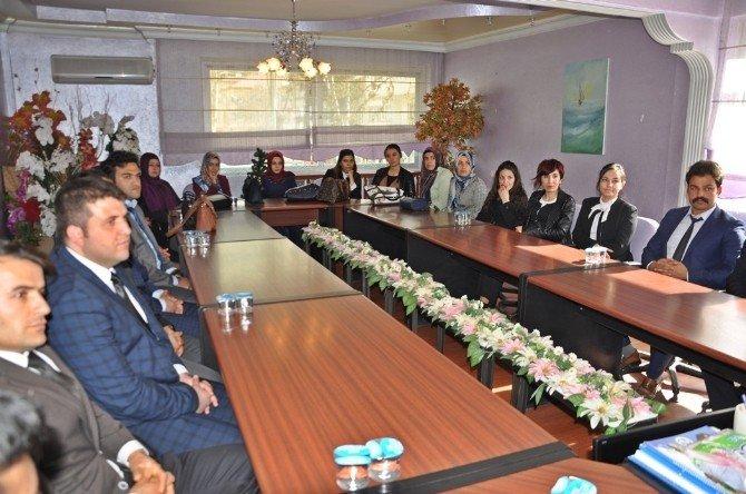 Aday Öğretmenlerden Başkan Özdemir'e Ziyaret