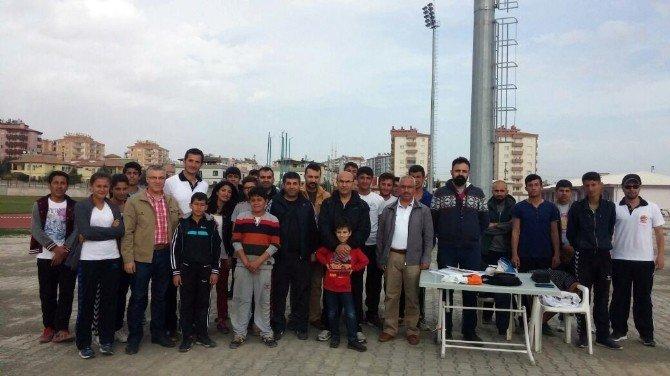 Vali Demirtaş, Bocce Lig Müsabakalarını İzledi