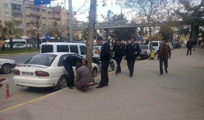 Vatandaşlar Şüpheli Şahsı Polise İhbar Etti