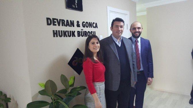 Ulupınar'dan, Gonca-devran Avukatlık Bürosuna Ziyaret