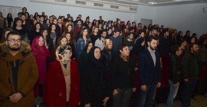 Ankara'daki Terör Saldırısında Hayatını Kaybedenler ESOGÜ'de Anıldı