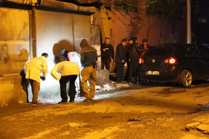 Batman'da polis merkezine el yapımı bomba atıldı