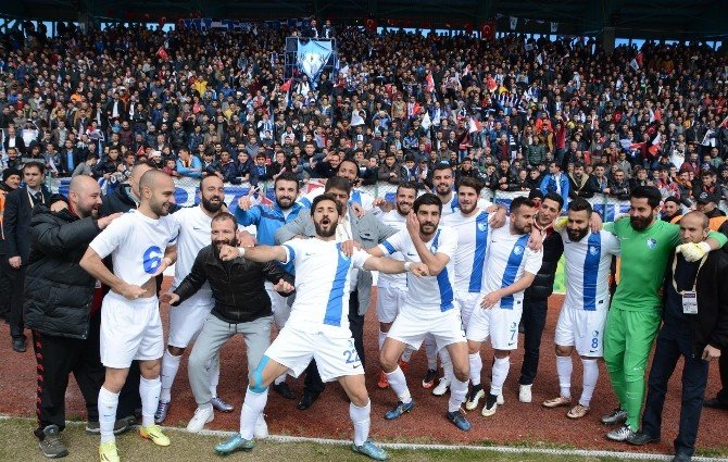 Bb Erzurumspor Teknik Direktörü Yıldırım: 'Bize Mutluluk Veren Hak Edilmiş Galibiyet Aldık'