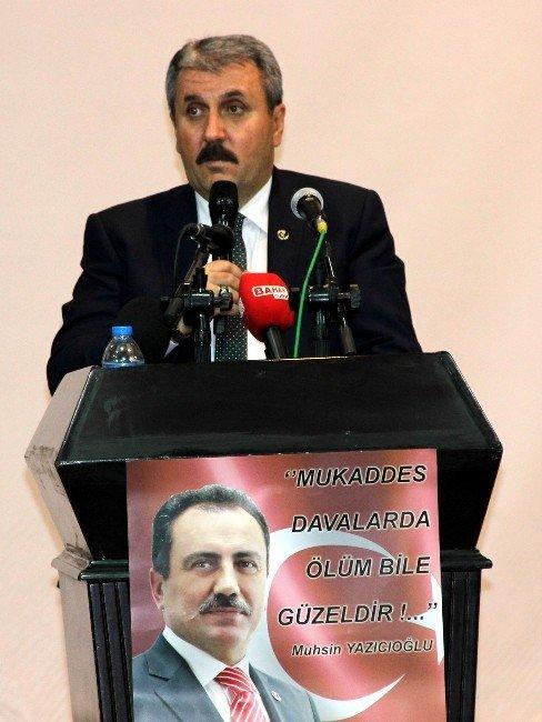 Muhsin Yazıcıoğlu Gaziantep'te Anıldı