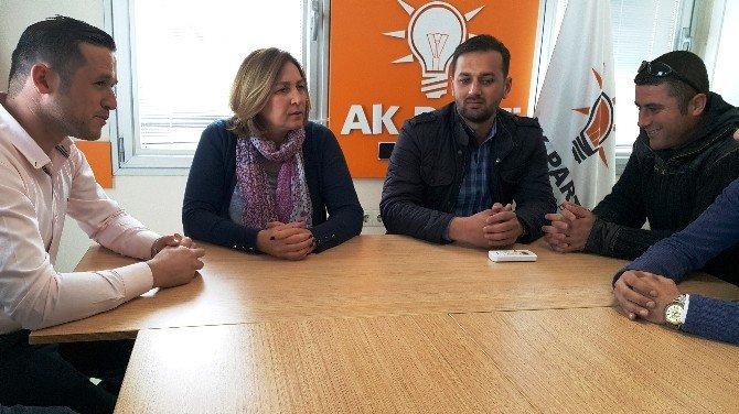 112 Ambulans Şoförleri AK Parti'li Demiralp'i Ziyaret Etti