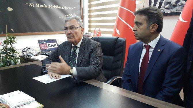 Deniz Baykal'dan Darp Edilen CHP'li İl Başkanına Destek