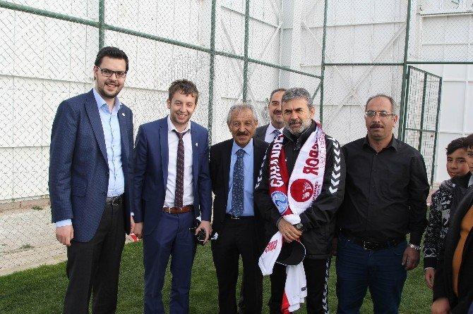 Cihanbeyli Gençlik Meclisi'nden Torku Konyaspor'a Ziyaret