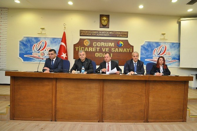 Çorum TSO Meslek Komite Toplantısı