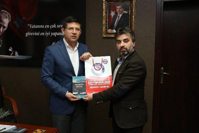Eğitim Bir-sen'den Başkan Subaşıoğlu'na Ziyaret