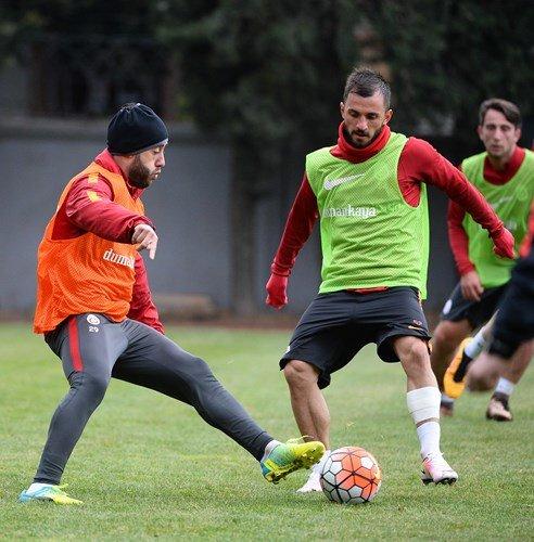 Galatasaray'da Eskişehirspor maçının hazırlıkları devam ediyor