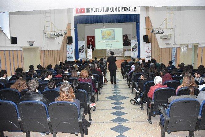 """Öğrencilere, """"Sınav Kaygısı Ve Motivasyon"""" Semineri Verildi"""