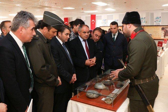 Yahyalı'da Çanakkale Müzesi Açıldı