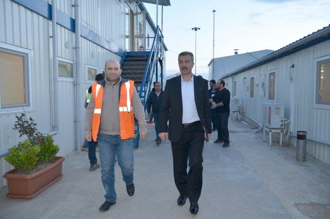 Milletvekili Öztürk, çevrim santralini ziyaret etti