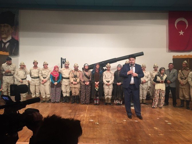 Koca Seyit Soma'da Sahnelendi