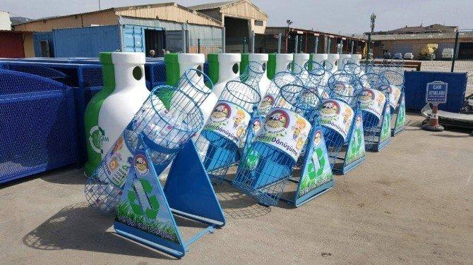 Körfez'de Pet Şişeler Kumbaraya