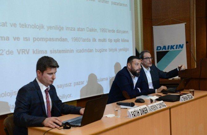 KSÜ'de Buhar Kazanları-havalandırma İklimlendirme Çözümleri Semineri