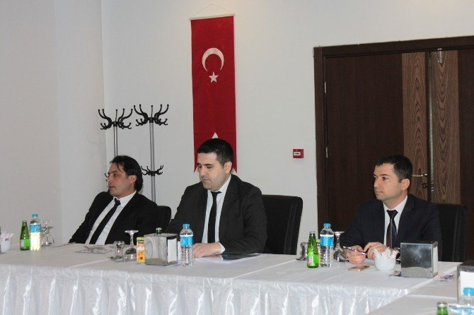 Kuzka, Çankırı'da Gazetecilerle Bir Araya Geldi