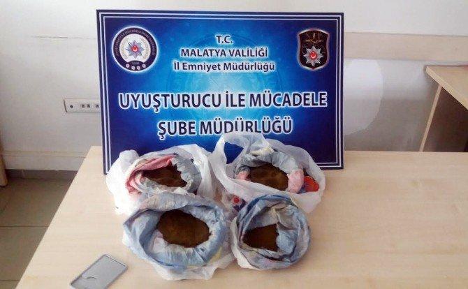 Malatya'da Zehir Tacirlerine Geçit Yok: 5 Tutuklama
