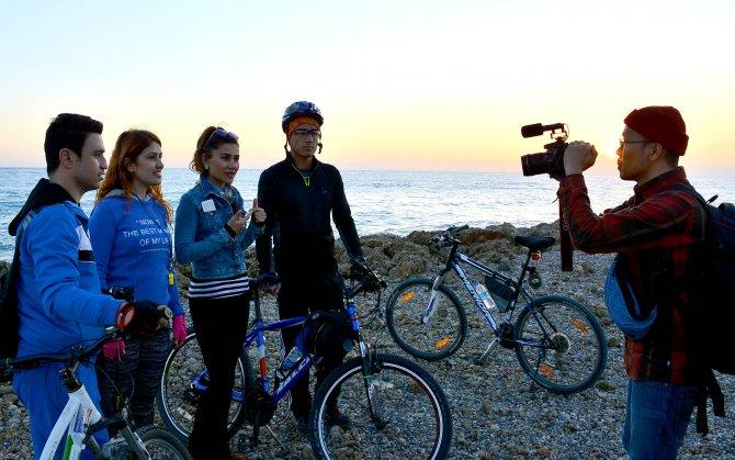 Güney Kore Devlet Televizyonu Manavgat'ın tanıtımı için çekim yaptı