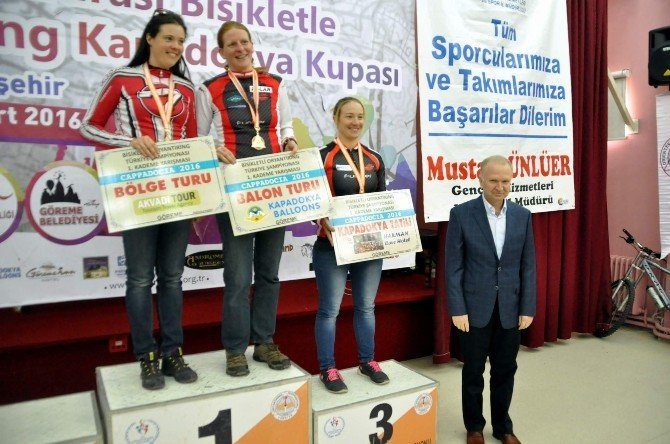 Uluslar Arası Kapadokya Bisikletli Oryantiring Yarışları Sona Erdi
