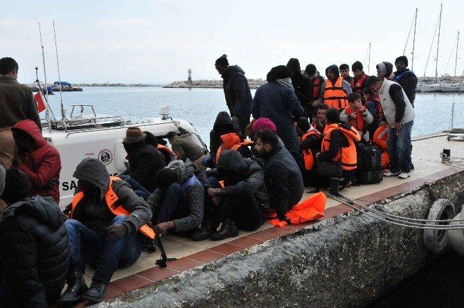 Çanakkale'de 51 Kaçak Yakalandı