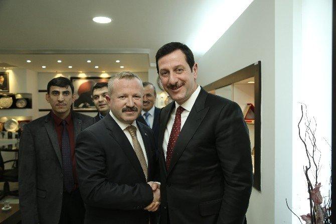 Din Görevlilerinden Başkan Tok'a Ziyaret