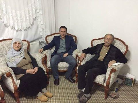 Sarıkaya Belediye Başkanı Açıkel Yaşlıları Ziyaret Etti