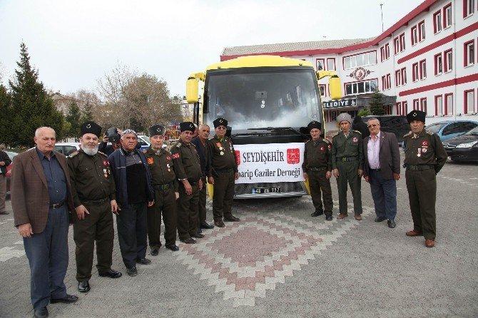 Seydişehir Belediyesi'den Gazilere Kültürel Gezi