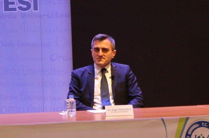 """Tuzcuoğlu: """"Yargı İşi Yapıyoruz"""""""
