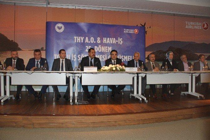 THY İle Hava-iş Arasında Toplu İş Sözleşmesi İmzalandı