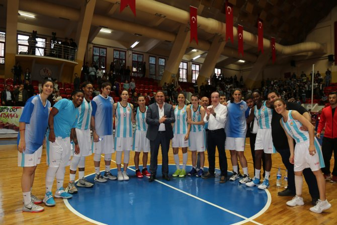 Adana ASKİ Spor'da galibiyet sevinci
