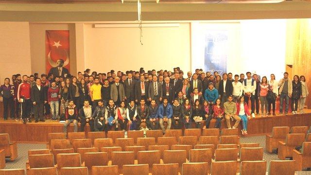 TMOK Fair Play Kervanı 19. ziyaretini Muğla Sıtkı Koçman Üniversitesine yaptı