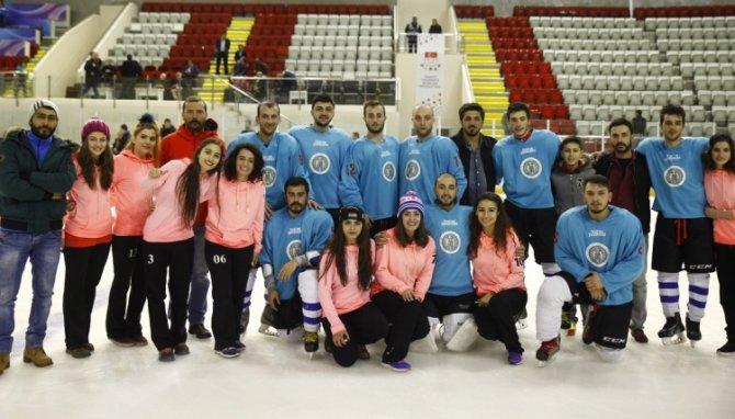 Ünilig Kış Spor Oyunları Türkiye Şampiyonası yapıldı