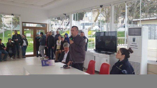 Ankara'dan Gelen Misafirlere Dolandırıcılık Semineri Verildi