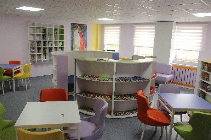 Durmuş Torun İlkokulu'nda 'Z-kütüphane' Açılışı