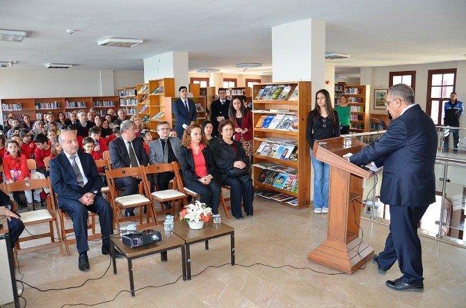 52. Kütüphane Haftası Etkinlikleri Başladı