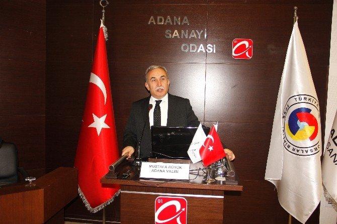 """Vali Büyük: """"Adana'nın Geleceğinden Umutluyum"""""""