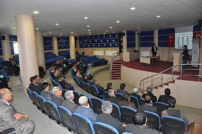 Sincik'te İka 2016 Yılı Mali Destek Programını Tanıtıldı
