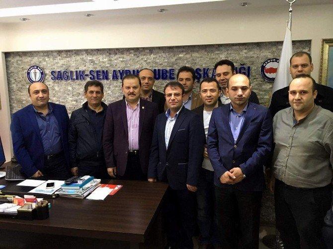 AK Parti'li Öz, Suriye Yardım Tır'ını Uğurladı