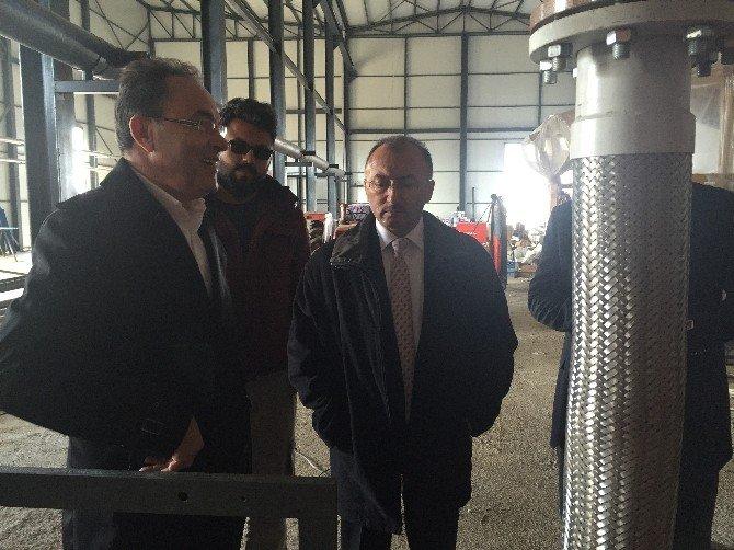 Belediye Başkanı Faruk Köksoy Afyonkarahisar'da Biyogaz Tesisini Yerinde İnceledi