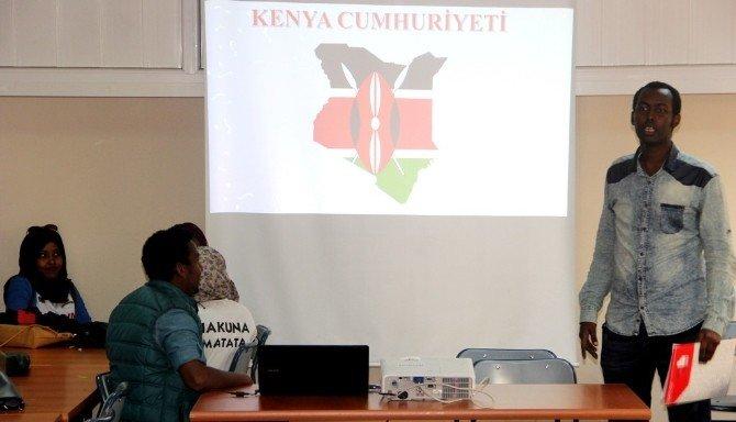 Kenyalı Gençler Aydın'da Kültürlerini Tanıttı