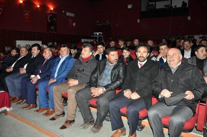 Merhum Muhsin Yazıcıoğlu Sorgun'da Anıldı