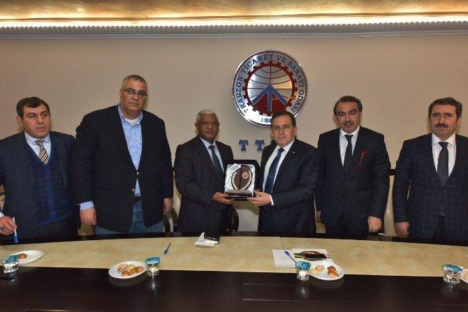 Trabzon Ve Etiyopya İlişkileri Geliştirilecek